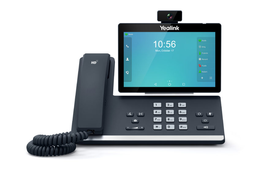 IP-PBX Phone Social Interactions